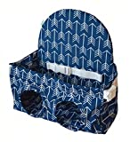 Sunshine Leaf Baby Shopping Cart Seat Suitable for 8-48 months Toddler and Twins (Navy Blue)