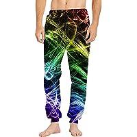 uideazone Joggingbroek voor heren, uniseks, 3D-print, sportbroek, herenbroek, casual sweatpants gym running Traning…