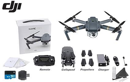 1a98e8ff677 Amazon.com: DJI Mavic Pro Collapsible Quadcopter Starters Bundle ...