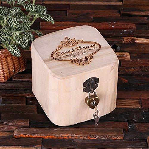 Personalized Treasure Trunk Box