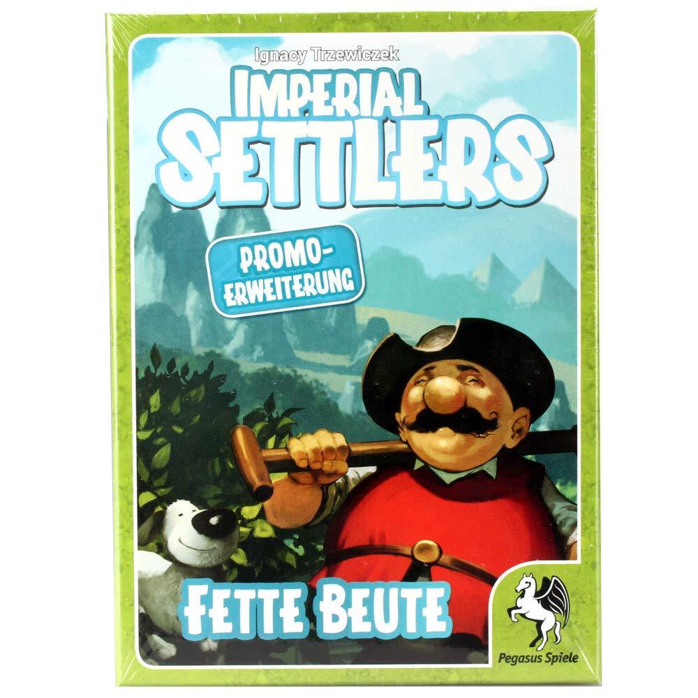 Pegasus Spiele 51968G Imperial Settlers: Promo Box, Mehrfarbig