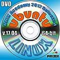 Ubuntu 17.04 Linux DVD 64-bit Newest Latest Release Full Installation Includes Complimentary UNIX Academy Evaluation Exam