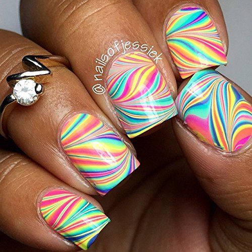 Amazon.com : Whats Up Nails - Pure Color #7 Watermarble Tool : Beauty