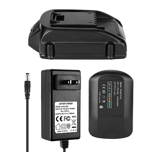 ANTRobut - Batería y Cargador de Repuesto para WA3525 WA3520 ...
