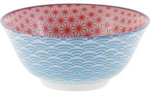 Tokyo Design Studio Starwave Bowl - Red/Light Blue at Amara