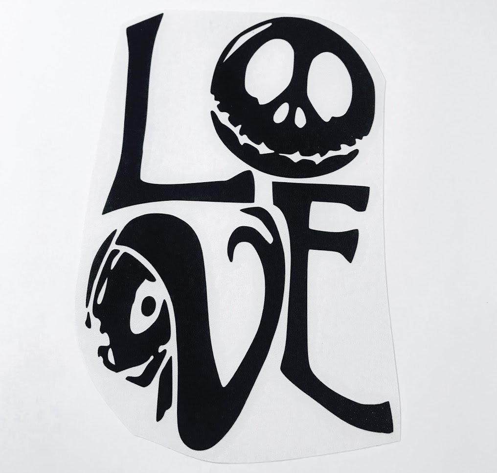 Jack And Sally Love | Nightmare Before Christmas Vinyl Fan Art ...