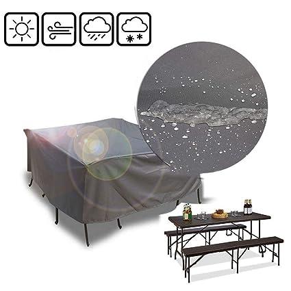 Amazon.com: LJIANW - Fundas para muebles de jardín, extra ...