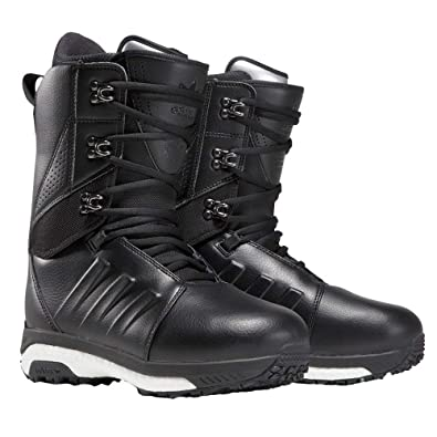 outlet store a86c1 72284 adidas Skateboarding Mens Tactical ADV Snow Boot 18 Black ...