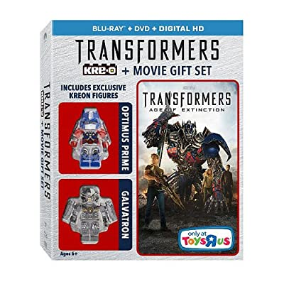 Transformers: Age of Extinction [EXCLUSIVE KREON FIGURES] (KRE-O + BLU-RAY + DVD + DIGITAL HD)