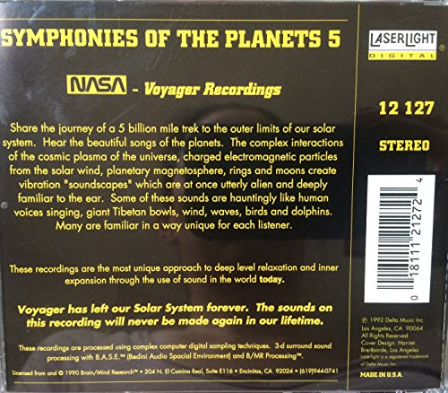 Symphonies of the Planets 5 - NASA Voyager Recordings (Symphonies Of The Planets)