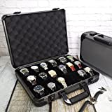 Watch Case Aluminum Briefcase for 18 Large