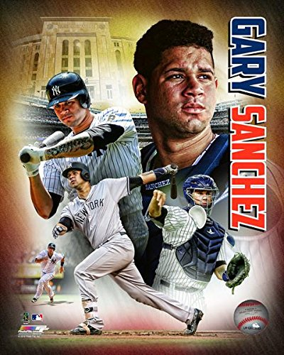 New York Yankees Gary Sanchez, 8x10 Photo Collage Picture