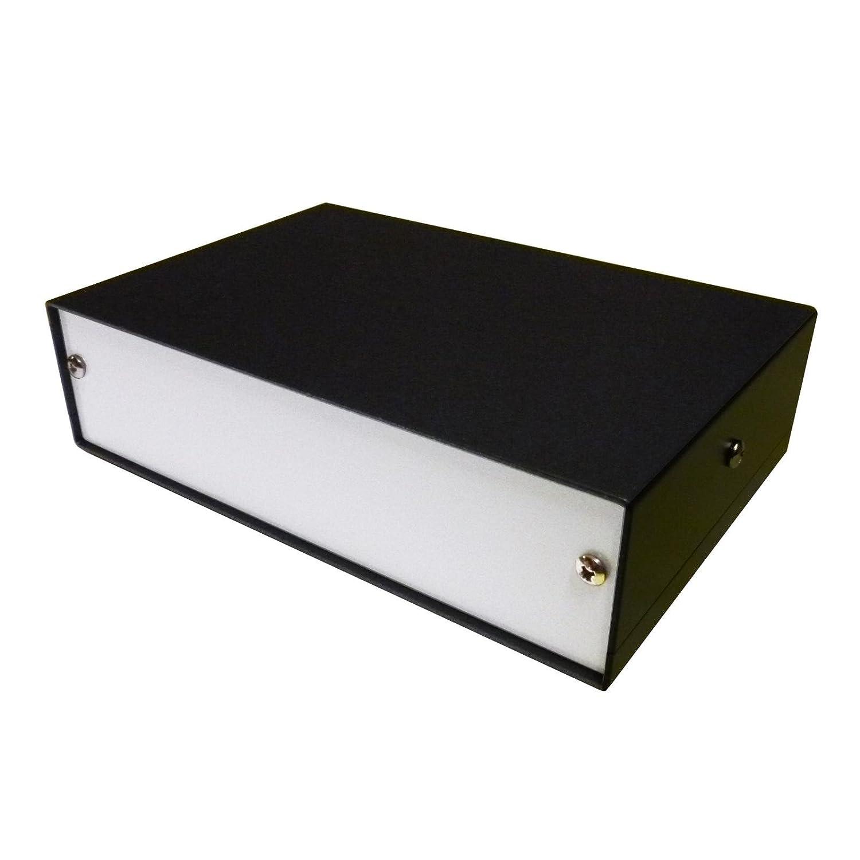 Caja de escritorio para proyectos de aluminio, 150 x 100 x 40 mm ...