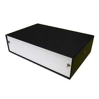 Caja de escritorio para proyectos de aluminio, 150 x 100 x 40 mm, para