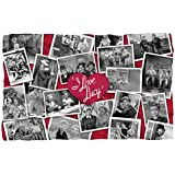 I Love Lucy Time After Fleece Blanket Throw White 36x58