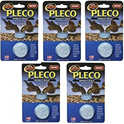(5 Pack) Zoo Med Laboratories Pleco Banquet Blocks