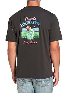 Tommy Bahama Aloha Waikiki Medium Navy Blue Short Sleeve T Shirt