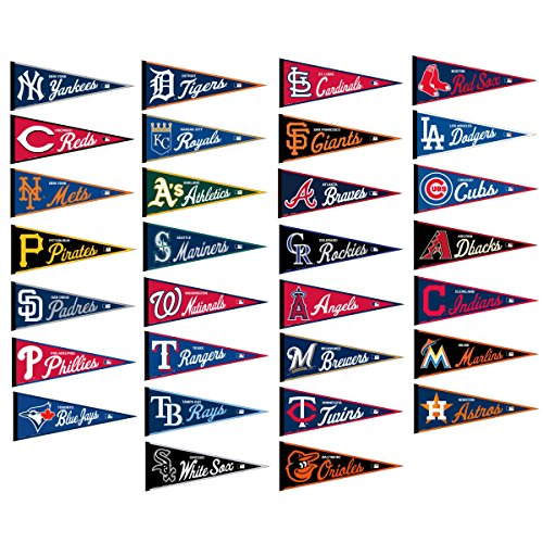 WinCraft MLB Team Pennant Set Full Size Collection]()