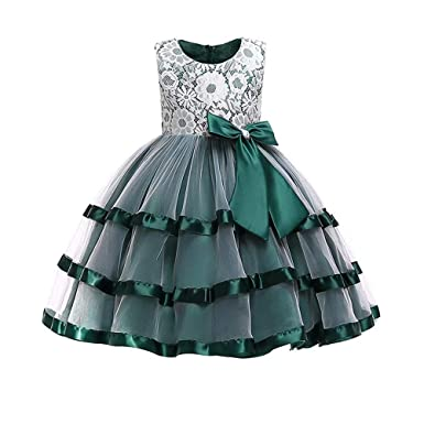 Lilibridal Flower Girl Dress 2-12 Year Old Multi Style Princess Dresses Pageant Wedding Party