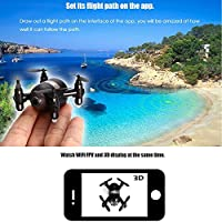 ECLEAR RC Mini Quadcopter Drone RTF 720P HD Camera WiFi FPV Nano Helicopter 2.4GHz 4CH 6 Axis Gyro UFO Aircraft Toys For Adult Kids Aerial Photography Racing