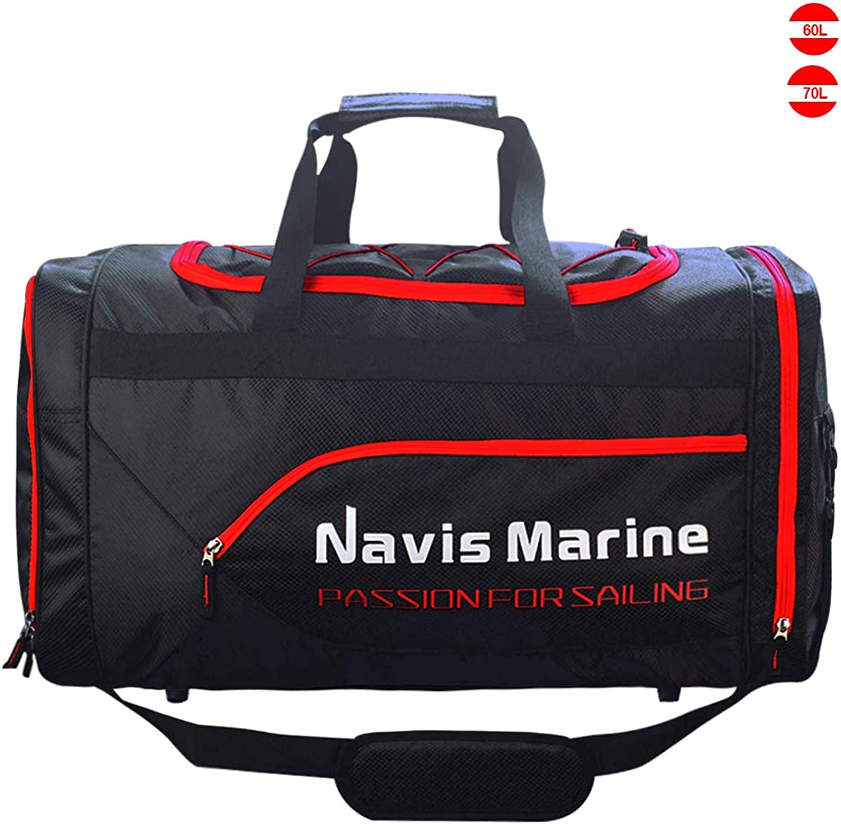 Duffel Dry Bags Waterproof for Sailing Backpack Boating Luggage Team Bag 30L 40L 50L 60L 70L