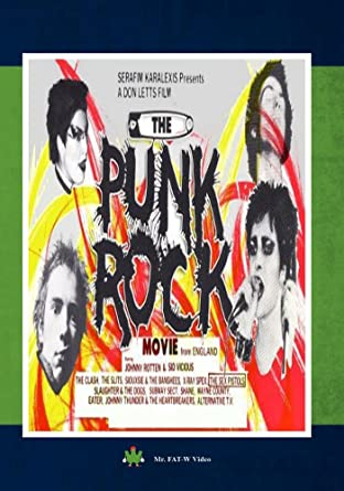 Amazon The Punk Rock Movie From England Soo Catwoman Steve