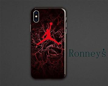 coque iphone 6 air jordan rouge