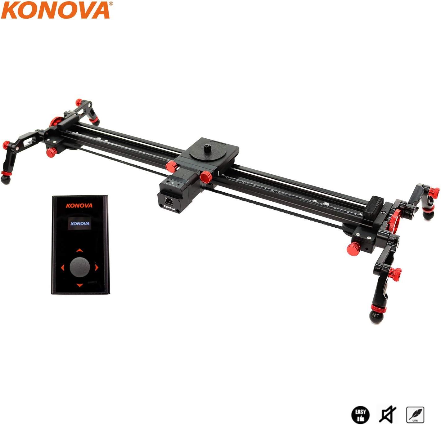 """KONOVA Motorized Slider S2 with K3 100cm(39.4"""") Slider for Timelapse Live Motion"""