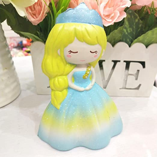 Sonnena Juguetes compresivos, Squishies Kawaii Juguetes Lindo Chica de la Boda Squishy Squeeze Toy Slow Rising Decompression Toys Stress Relief Juguete ...