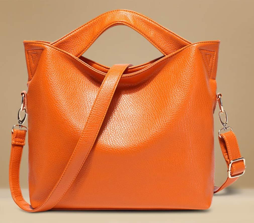 RSQJ Weibliches PU-Mode-Schulter-Handtaschen-diagonales Paket der Tasche