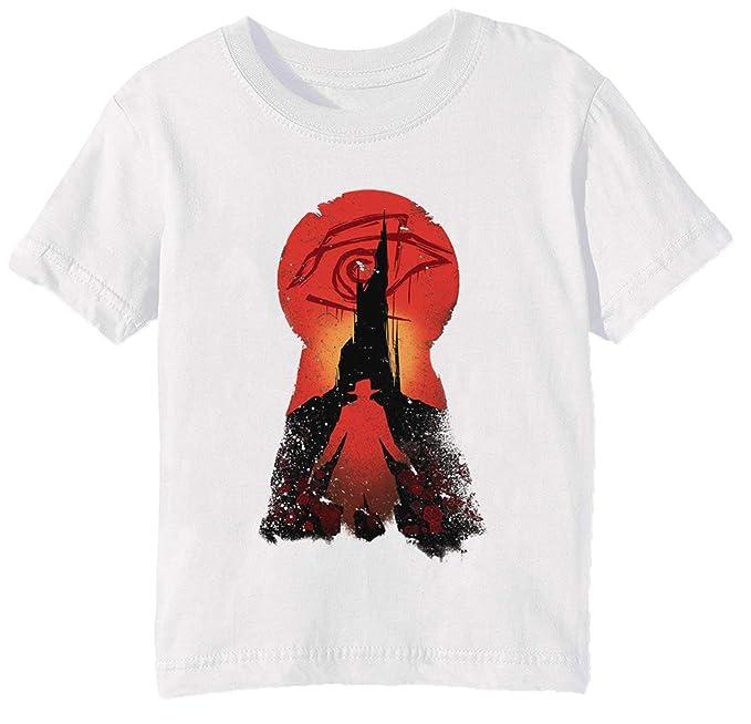 b9d7c7a9780f03 Erido Lui Seguito Bambini Unisex Ragazzi Ragazze T-Shirt Maglietta Bianco  Maniche Corte Dimensioni 3XS