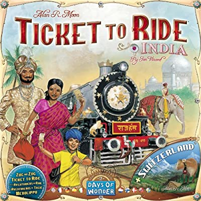 Ticket To Ride India Map Collection - Volume 2 from Days of Wonder