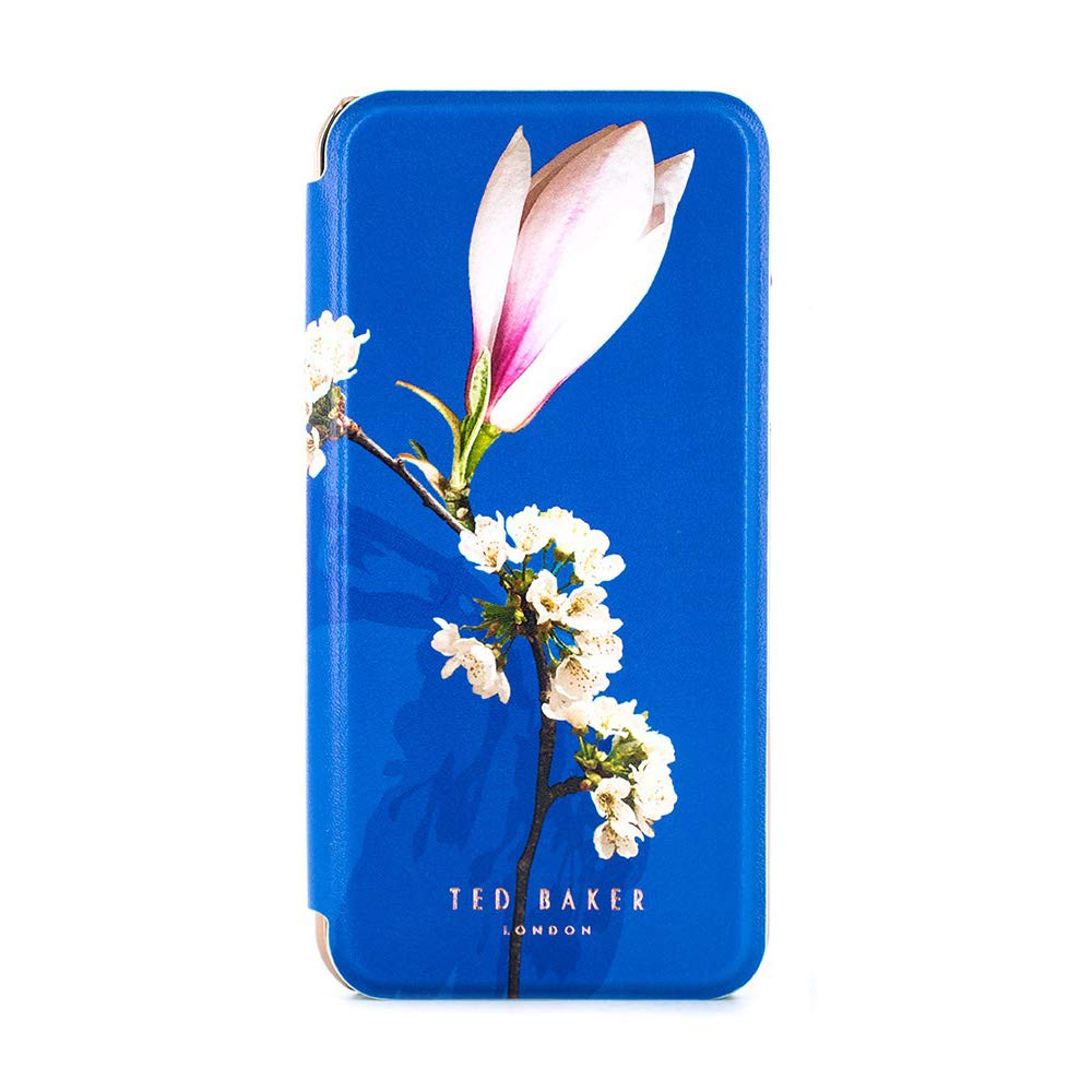 Ted Baker LAYYLI Highly Protective Premium Quality Mirror Folio Case for iPhone X/XS - Harmony Mineral by Ted Baker