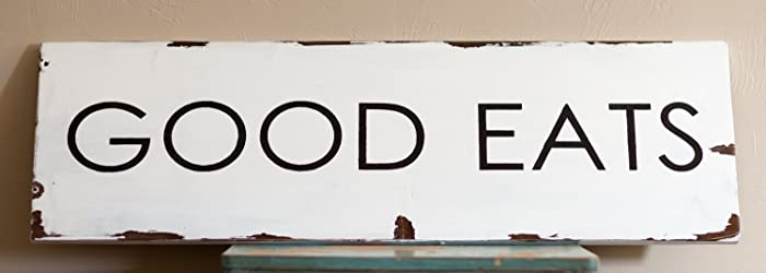 Great Dining Room Sign | Good Eats Sign | Dining Room Wall Art | Rustic Dining  Room