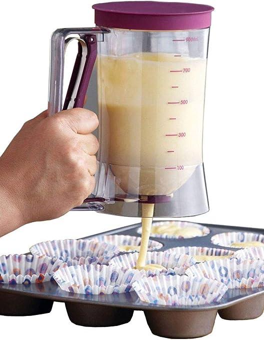 Tiakino Baking Tool Pancake Batter Dispenser Cake Dispenser Funnel Batter Cream Tool