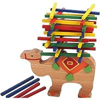 Madera Juego de Barra de Equilibrio Camello Educativa para Las Manos de Niños Niños de Bebé