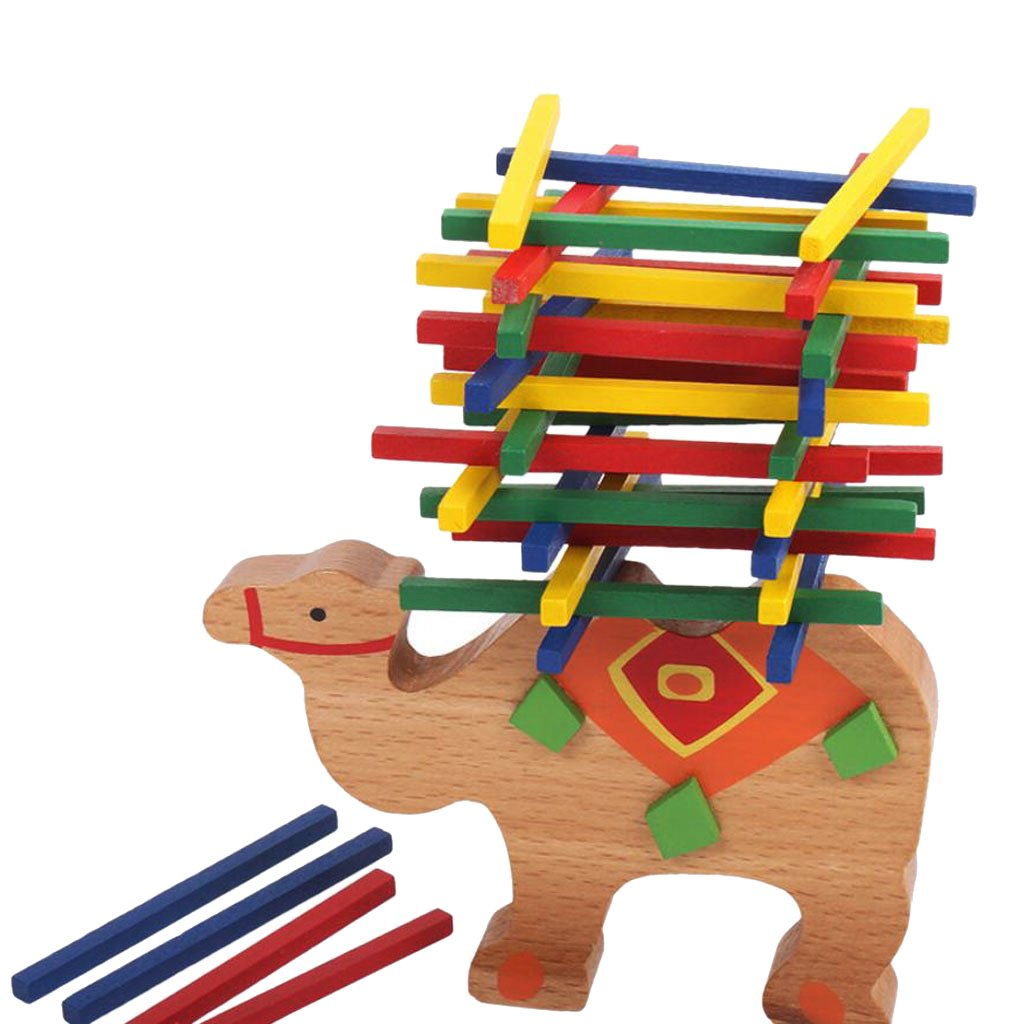 Wooden Educational Camel Balance Beam Game for Children Baby Kids Hands Generic STK0157002030