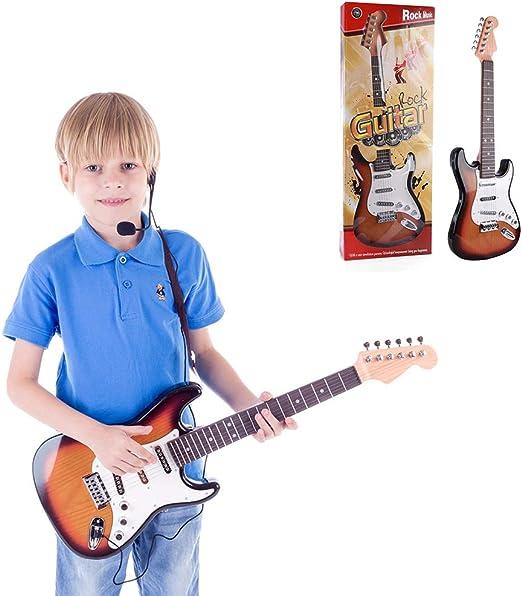 YUSDP Juegos de Guitarra eléctrica para Principiantes de 6 ...