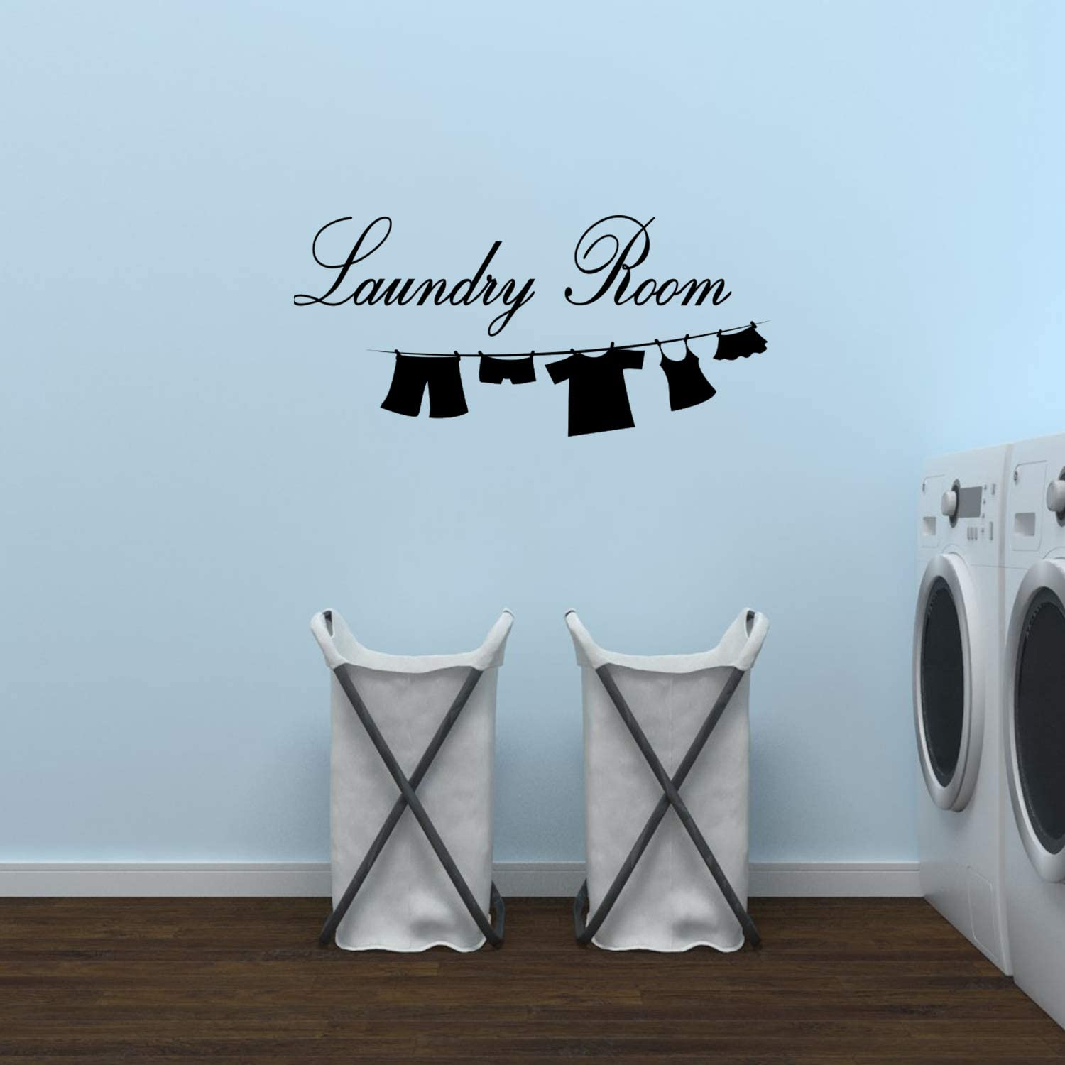 Wall Decal Sticker Vinyl Art Lettering Laundry Room wall quotes