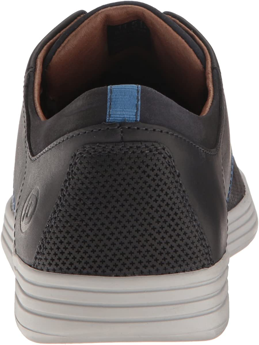 Dunham Men's Colchester Oxford Fashion Sneaker Blue