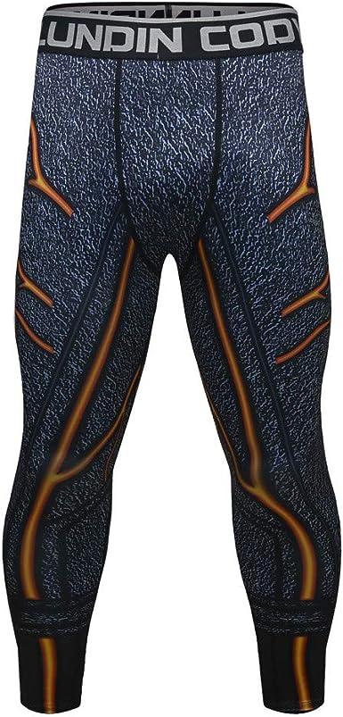 VPASS Pantalones para Hombre, Chándal de hombres Impresión Gym ...