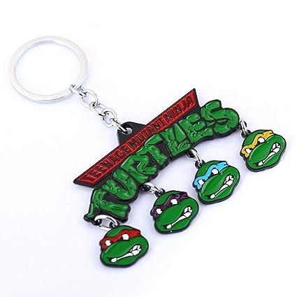 TUDUDU Adolescente Mutante Ninja Tortugas Clave De La Cadena ...