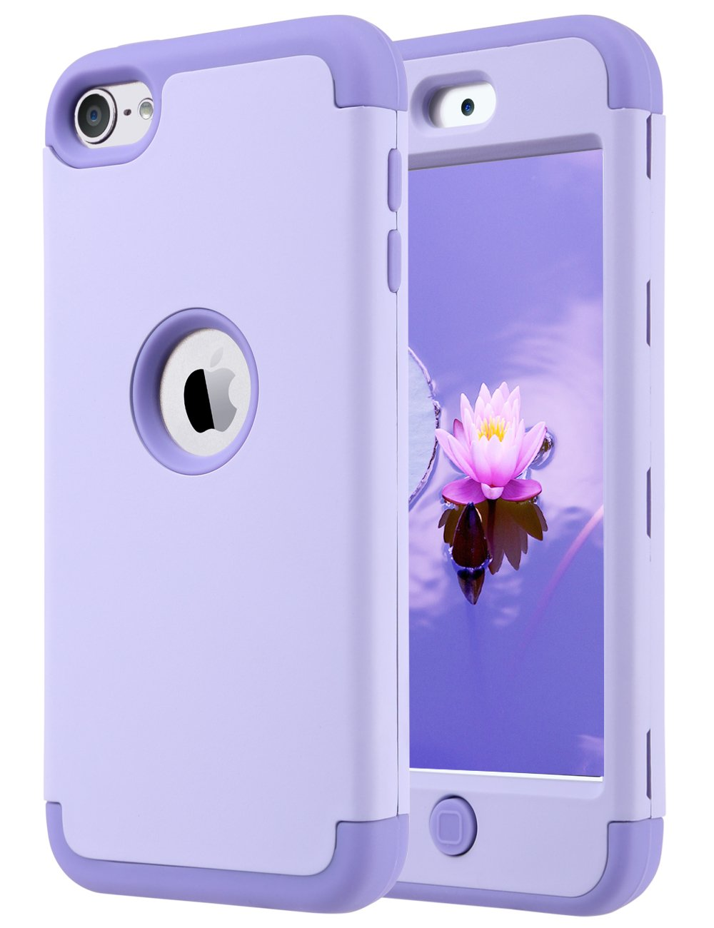 Funda Para Apple iPod Touch 5/6/7 Generacion (violeta)