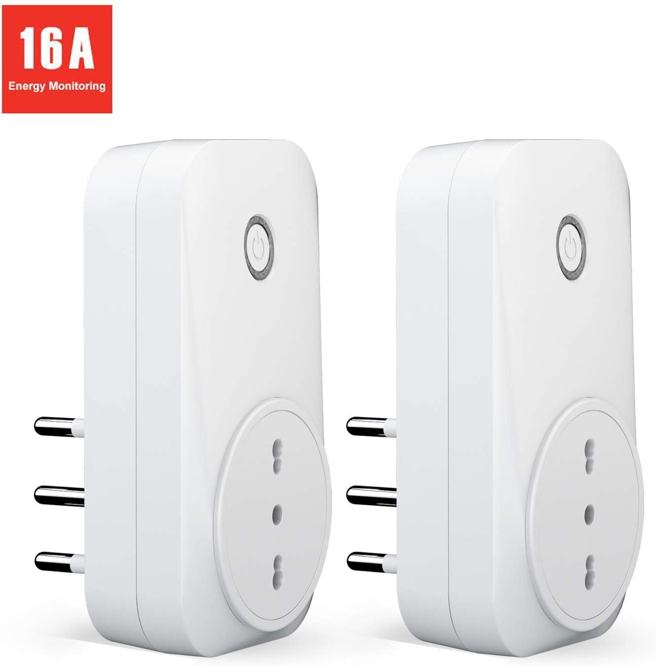 meross Presa Intelligente Wifi Italiana 16A 3680W