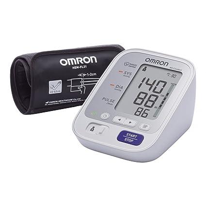 OMRON M3 Comfort - Tensiómetro de brazo, tecnología Intelli Wrap Cuff