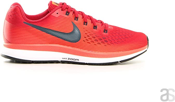 Nike Air Zoom Pegasus 34 Rojo Marino N880555 600: Amazon.es ...