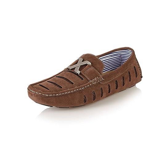 Private Brand - Mocasines de sintético para Hombre, Color, Talla 9 UK: Amazon.es: Zapatos y complementos