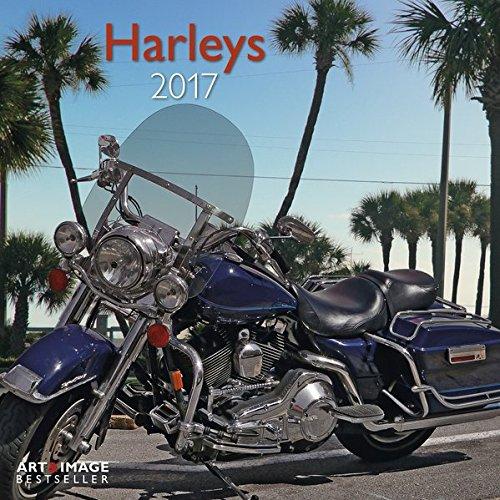Harleys 2017 - A&I Motorradkalender, Motorsport Kalender, Zweirad Kalender 2017, wandkalender 2017, Posterkalender 2017 - 30 x 30 cm