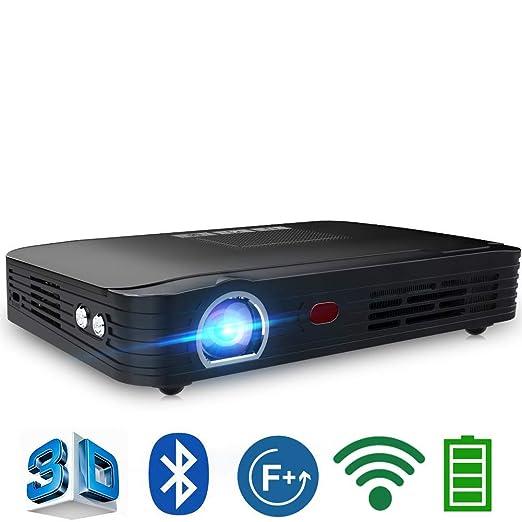 AI LIFE Mini proyector portátil Full HD Proyector de Cine en casa ...