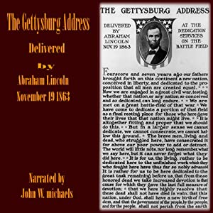 The Gettysburg Address Audiobook